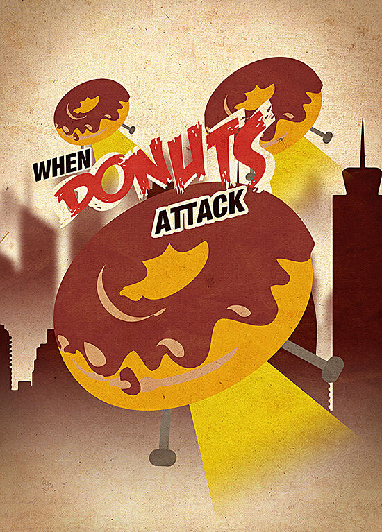 When Donuts Attack