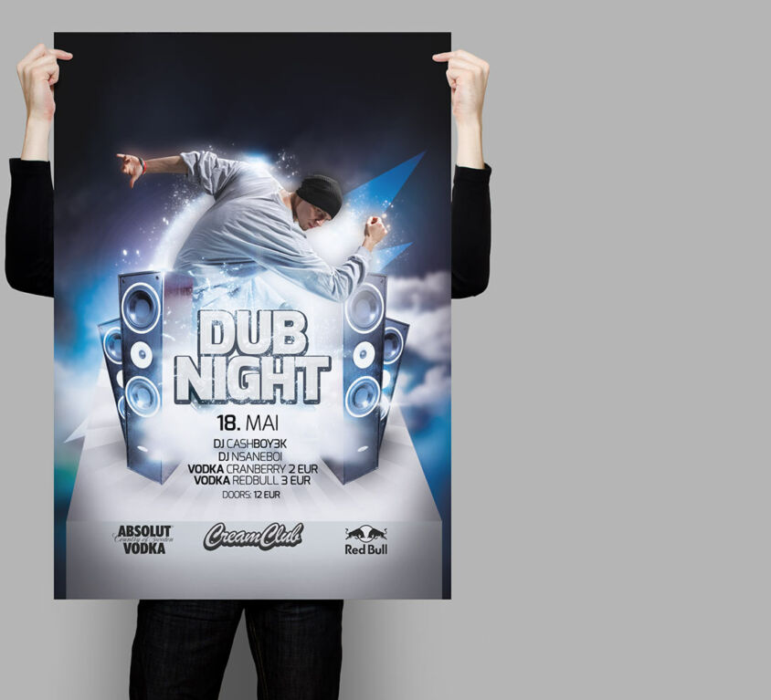 Party Event Poster Design